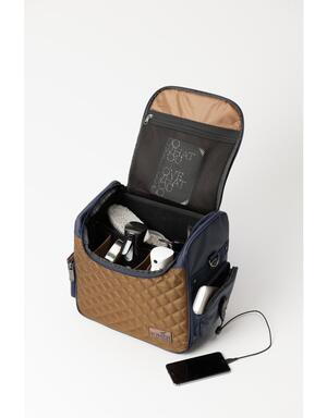 "Someh Grooming Bag  - ""Gold Connect"""