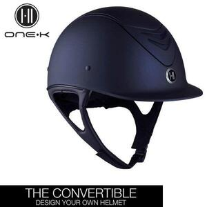 One K Convertible Navy Matt hjelm