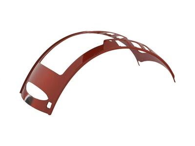 One K Convertible Pipe Paint Glossy Bordeaux